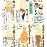 北海道で食べたソフトクリームまとめ