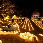 定山渓神社でスノーキャンドルが彩る「雪灯路(ゆきとうろ)2019」