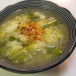 絶対風邪治すという強い意志が感じられるスープ