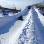 札幌競馬場で「雪フェスタ」