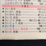 """「埼玉県の県庁所在地、さいたまの""""さ""""は正式には2画目と3画目が繋がっている"""