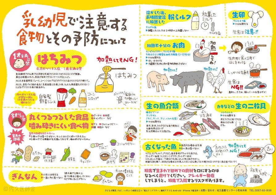 アレルギー以外にも乳幼児で気をつける食べ物も今一度ご確認を
