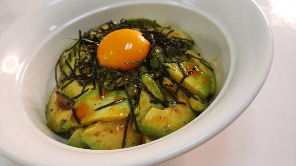 【レシピ】アボカドの漬け丼