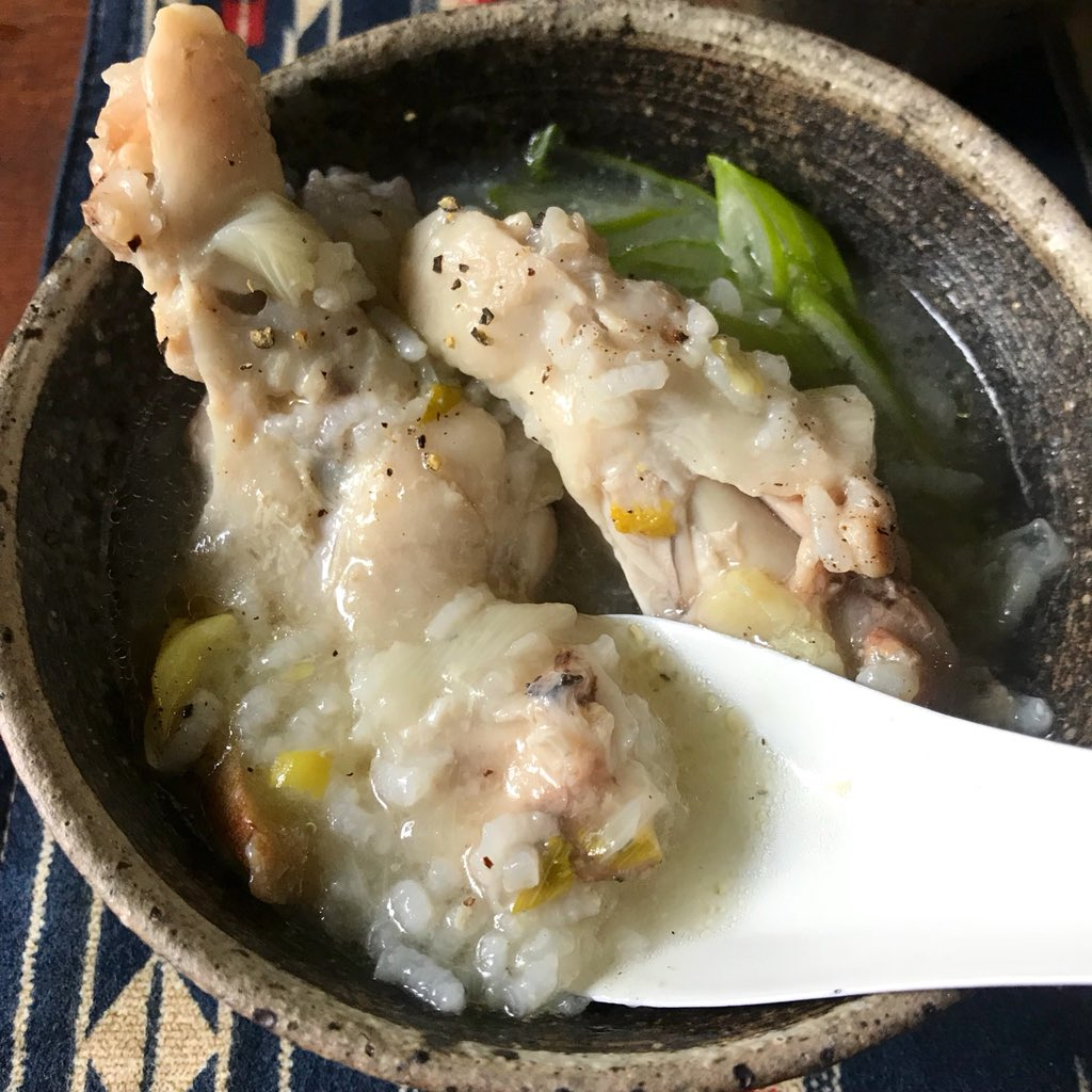 【炊飯器レシピ】とろとろサムゲタン風スープ