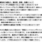 東京都医師会の、新型コロナウィルスへの見解