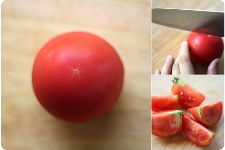 【裏技】トマトの綺麗な切り方