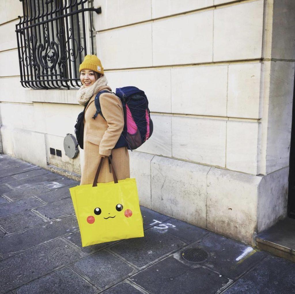 フランス人も欲しがるピカチュウのバッグ