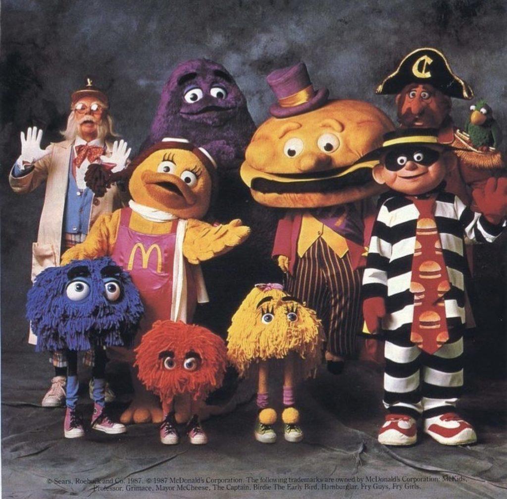 組織犯罪集団みたいなマクドナルドの初期メンバー