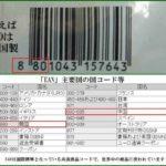 EANコード 韓国は880 中国は690-695
