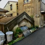 大阪市住之江区南加賀屋4丁目の加賀谷家防空壕