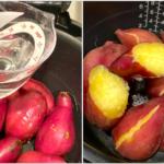 炊飯器で作る簡単焼き芋