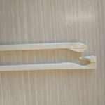 面白い割れ方をした割り箸