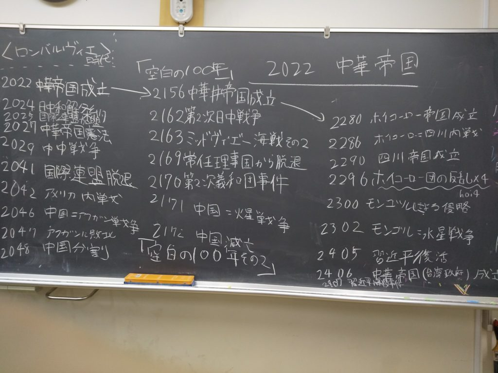 テスト勉強中に友達が謎の未来を作り出していた