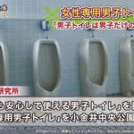 「女性専用男子トイレ」を小金井中央公園に設置