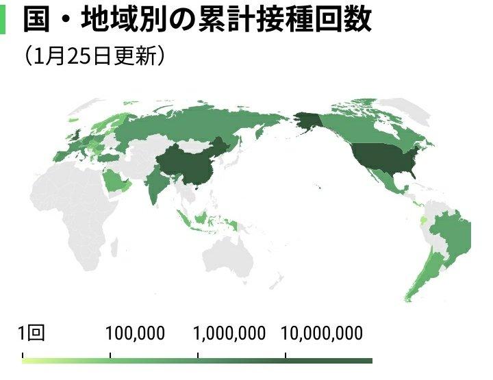 【Covid-19】先進国でワクチン接種が始まっていないのは日本だけ