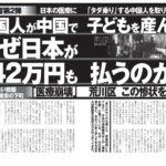中国人が中国で子供を産んで、なぜ日本が42万円払う?