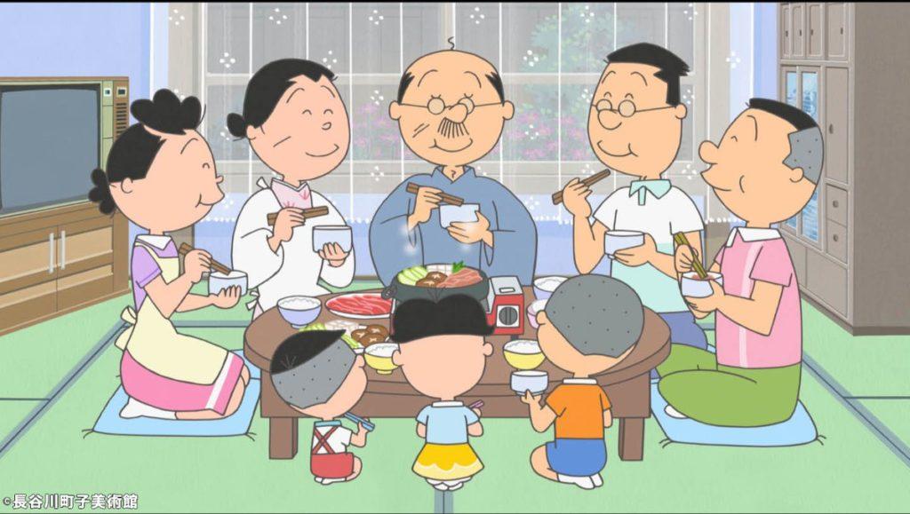 サザエさん一家は時代を拒絶して昭和の暮らしを続ける