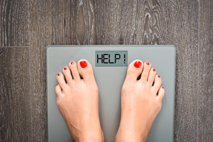 1日でふえた体重はほとんど水分。逆もしかり。