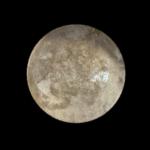鍋の底を真っ黒な背景に置くだけで、めちゃくちゃ綺麗な月を作れます