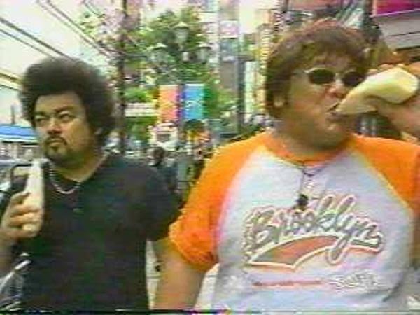 2000年代の日本の日常風景。