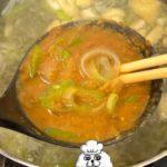 お味噌汁のみそを素早く簡単に溶かす方法